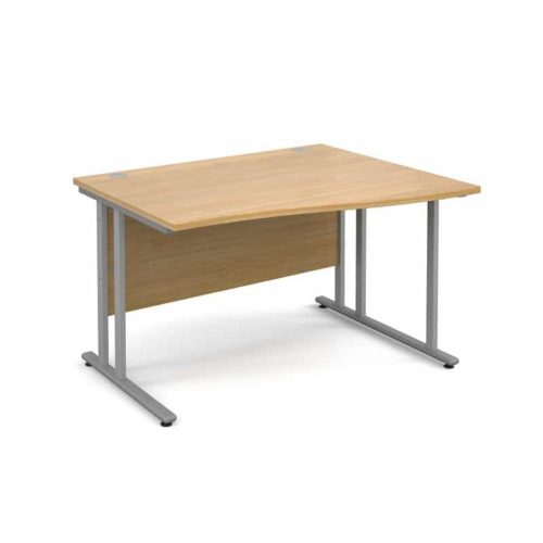 Oak Wave Desks