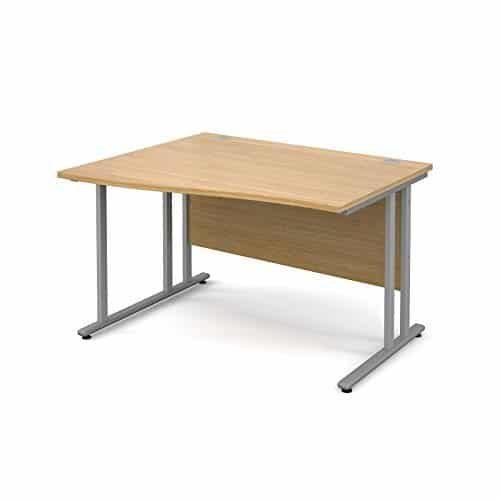BiMi 1600mm x 800mm Left Hand Wave Desk in Oak
