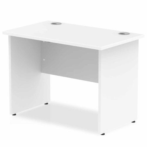 White Panel Desk