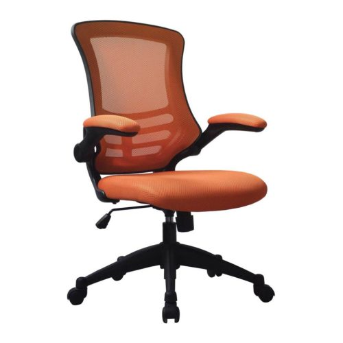 The Luna Orange Office Chair | BiMi Luna Orange Operator Chair