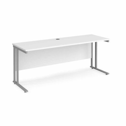 White Compact Desks